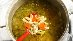 Better than Your Mom's Chicken Soup ,weight watchers recipes , smart points 4