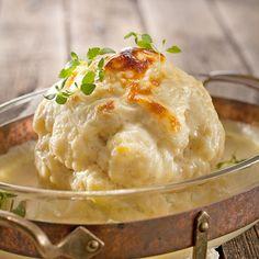 Kuorrutettu kukkakaali | Maku Food N, Food And Drink, Finnish Recipes, Food Hacks, Food Tips, Mashed Potatoes, Vegetarian Recipes, Beverages, Drinks