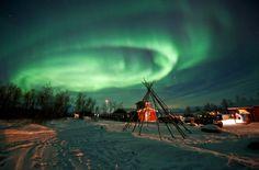 Os 10 melhores lugares para observar o céu colorido da aurora boreal