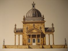 ✦   the temple of the four winds, castle howard  -  michael hampton