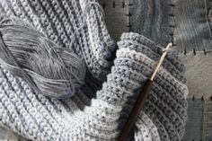 Crochet Your Fellow a Classic Men's Scarf With This Free Pattern