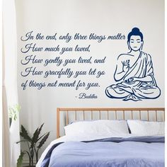 Buddha Quote Sticker Vinyl Wall Art - 17147649 - Overstock - The Best Prices on Quotes & Sayings - Mobile