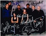 CSI: Crime Scene Investigation Authentic Cast Signed 8x10 Autograph Photo - William Petersen, Marg Helgenberger, Jorja Fox, Gary Dourdan, George Eads, Paul Guilfoyle, Eric Szmanda, Robert David Hall