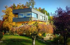 Winzerhotel Wurzenberg im Jänner 2016 Star Designs, Berg, Cabin, Boutique, Mansions, House Styles, Beautiful, Home Decor, Cabins