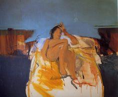 Portrait of JK by Michael Andrews