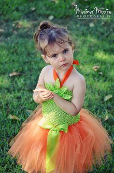 Pumpking Patch Halloween Crochet tutu dress  size 1 2 by TUTUCUTS, $17.99