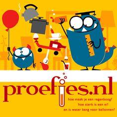 Toffe site voor proefjes in de klas. Enkel de proefjes gebruikt in het eerste leerjaar, ze vonden het fantastisch!