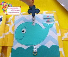 развивающие книжки для самых маленьких, книжка своими руками, книжка handmade, морские жители, морские обитатели из фетра