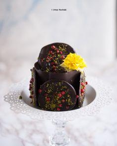 Prajitura de ciocolata gourmet raw vegan Sportychoco
