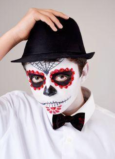 día de los muertos makeup man - Google Search