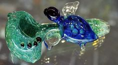glass turtle pipe, glass art, glass pipe, turtle pipe https://www.facebook.com/maryjaneshq