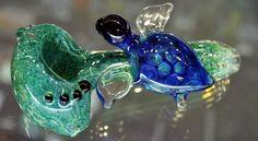 glass turtle pipe, glass art, glass pipe, turtle pipe https://www.facebook.com/maryjaneshq