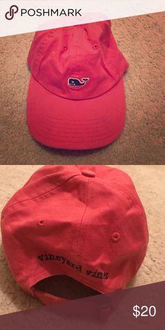 Vineyard Vines baseball cap Pink Vineyard Vines baseball cap. Adjustable strap on the back of the hat. vineyard vines  Accessories Hats
