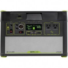 The Goal Zero YETI® 1400 Lithium Solar Generator Portable Power Station w/ Wi-Fi 38300 has been discontinued. Check out Expert's recommended alternatives for another top portable generators solar inverter generator. Solar Energy Panels, Best Solar Panels, Solar Roof Tiles, Solar Generator, Solar Projects, Diy Projects, Solar Panel Installation, Solar Charger, Panel Systems