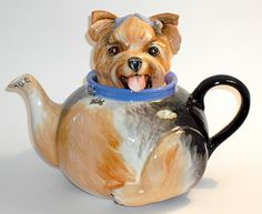 Yorkshire Terrier Dog Teapot