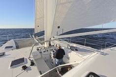 First Sail on A47 'Pounce'