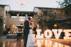 19 Ideas for using Marquee Lights for Weddings ~ we ♥ this! moncheribridals.com
