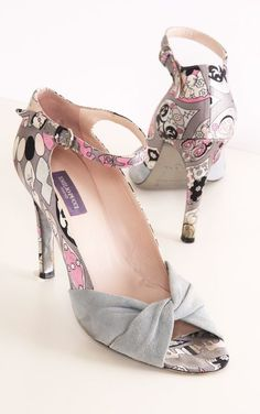 Emilio Pucci Heels.♥