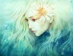 A young talented illustrator from San Francisco currently studying in Georgia. Anna Dittmann is only 21 years old, and she's a brilliant digital artist. Illustrator, Fantasy Inspiration, Beautiful Artwork, All Art, Female Art, Amazing Art, Fantasy Art, Illustration Art, Art Illustrations