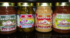 Enter to win here http://www.thriftyniftymommy.com/2013/03/mrs-renfros-salsas.html