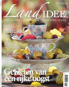 Cover LandIdee okt/nov 2015 #magazine #tijdschrift #home #wonen #landelijk #leven #herfst #oogstmaand