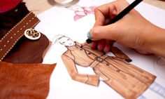 A good portfolio and original personal statement are essential when applying for a degree in fashion. Photograph: Alamy