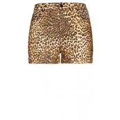 Get in touch with your wild side with our Studded Animal Short. Boasting an all over animal print, these shorts feature single button and front zip fastening, classic 5 pocket styling, rolled cuff and pyramid stud detailing to the left side when worn.