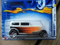 HOT WHEELS 2002 FIRST EDITIONS # 1 MIDNIGHT OTTO  FREE SHIPPING!!