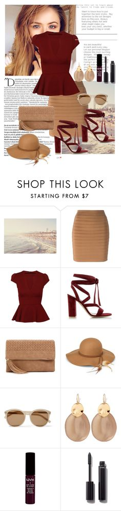 """""""Peplum"""" by little-princess712 ❤ liked on Polyvore featuring Balmain, Gianvito Rossi, Urban Expressions, Steve Madden, Yves Saint Laurent, Alexis Bittar, NYX and Chanel"""