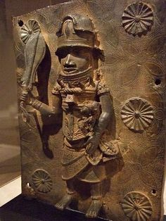 Single-figure plaque Nigeria Kingdom of Benin Edo (Bini) p… | Flickr