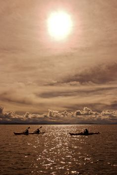 Amazing kayakking at Titicaca Celestial, Sunset, Amazing, Outdoor, Lake Titicaca, Sunsets, Outdoors, Outdoor Games, Outdoor Living