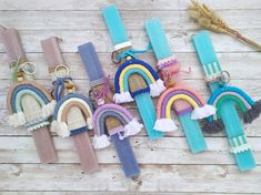 Godchild Gift, Lucky Charm Bracelet, Greek Easter, Palm Sunday, Easter Crochet, Easter Gift, Baby Knitting Patterns, Preschool Crafts, School Bags