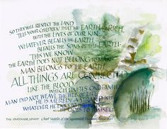 Outdoor Spirit ~::~ Judy Dodds, Penscriptions Calligraphy