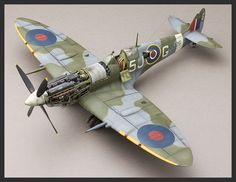Tamiya 1:32 - Spitfire Mk.IX - Model and photos by Aleksandar Pocuc