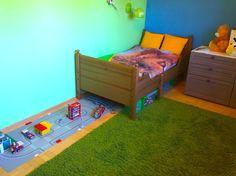 Pokój dla całkiem dorosłego chłopaka   Mamolka Boy's room Boy's bedroom for little fireman