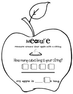 Sarah's First Grade Snippets: apple activities