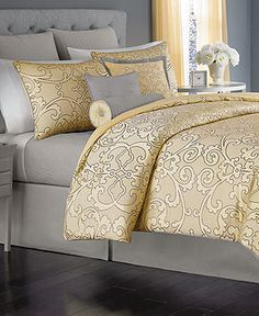 Martha Collection Vienna 22 Piece Queen Comforter Set Bed In A Bag