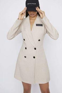New Season Designer Womenswear | SS20 Designer Clothing | Atterley Fashion News, High Fashion, Latest Fashion, Blazer Buttons, Casual Looks, Smart Casual, Blazer Dress, Sleeve Designs, Dress Codes