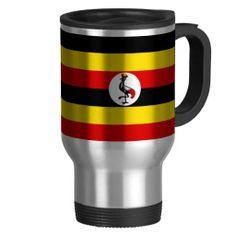 Ugandan flag mug