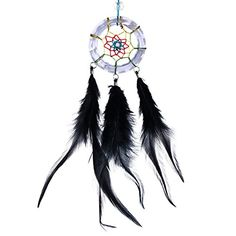 Dream Catcher Necklace, Hanging Ornaments, Handmade Necklaces, Feathers, Crystals, Deco, Amazon, Pendant, Wall