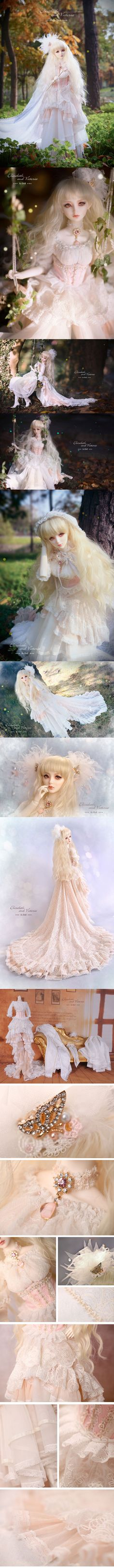 【Limited Edition】Bjd Clothes Girl Fantastic Dreamy fullset/Fairy Wing CL3140829 for SD Ball-jointed Doll_SD_SD_CLOTHING_Ball Jointed Dolls (BJD) company-Legenddoll