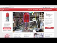 Budweiser Red Light Integrated - YouTube