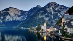 hallstatt austria Wallpaper HD Wallpaper