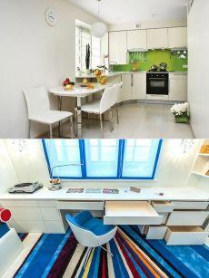 Подоконник столешница в комнате: фото идеи для детской, кабинета и кухни