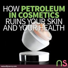 ACK! :O What do Styrofoam, antifreeze, and facial moisturizer have in common? They are made with petroleum, the fossil fuel that makes your car run and is found in paint and thousands of food products and medications that contain artificial colors.