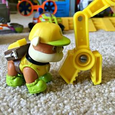 Paw Patrol Rubble Jungle Rescue Bulldozer