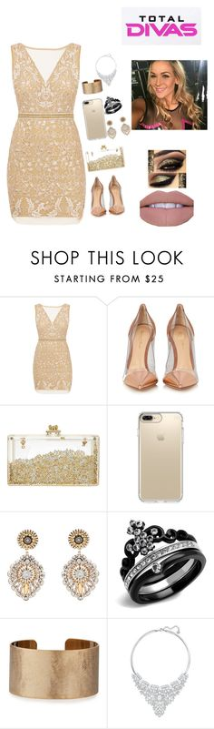 """Total Divas: Meet Natalya"" by samoangoddess ❤ liked on Polyvore featuring Nicole Miller, Gianvito Rossi, Speck, Miguel Ases, Panacea, Swarovski and Episode"