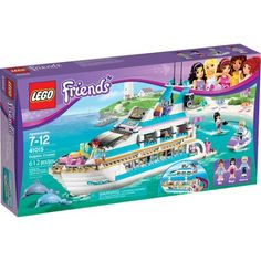 LEGO Friends Dolphin Cruiser Play Set - Walmart.com