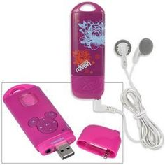 """That's So Raven"" Mix Stick MP3 Player by Memcorp Inc.. $9.29. Perfect for ""That's So Raven"" fans and music lovers alike, this quality MP3 Player lets you listen to music on the go. Features:256MB built-in memoryPlays both VMA and MP3 audio filesSD/MMC card slot expandable up to 1GB (additional memory sold separately)Up to 8 hours of playback with built-in rechargeable batteryHolds up to 120 songs/8 hours of WMA music; or 60 songs/4 hours of MP3 musicIncludes direct USB 2.0 ..."