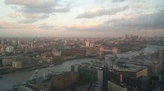 A view over London from The Shard